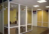 Офисные перегородки из металлопластика и алюминия