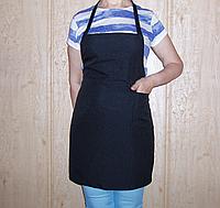 Передник (фартук) для повара черный