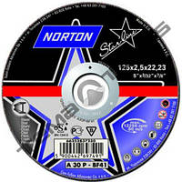 Круги отрезные по металлу Norton STARLINE