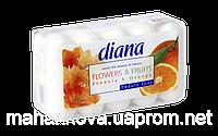 """Мыло туалетное Dalan """"Diana Flovers&Fruits"""" Фрезия и апельсин 5*75гр"""