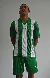 Форма футбольна Practic white-green