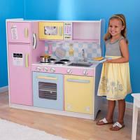 Детская деревянная кухня Kidkraft Large Pastel Kitchen, фото 1