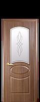 Дверь межкомнатная Фортис DeLuxe R (овал)  +Р1 ( с рисунком), фото 1