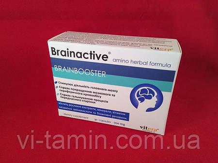Брэйнактив для улучшения работы мозга, Vitera, 30 капс.