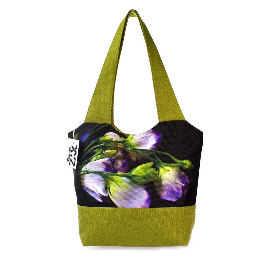 b4dd5bd30efd Модная текстильная женская сумка Цветок, цена 360 грн., купить в ...