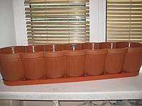 Балконный ящик для цветов 80 см.