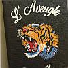 """Iphone 7 / 7 PLUS кожаный чехол панель накладка НАТУРАЛЬНАЯ КОЖА логотип тигр GUCCI """", фото 8"""