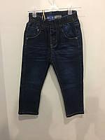 Детские джинсы на резинке на мальчика 98 см