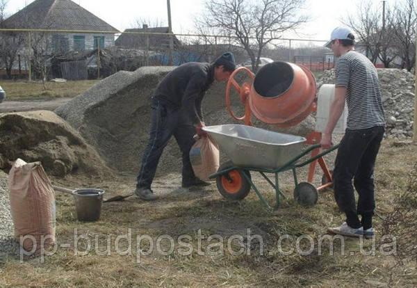 Як зробити бетон для фундаменту.