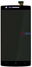 Дисплейный модуль OnePlus One черный