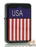 Оригинальная зажигалка с логотипом америки ( USA )