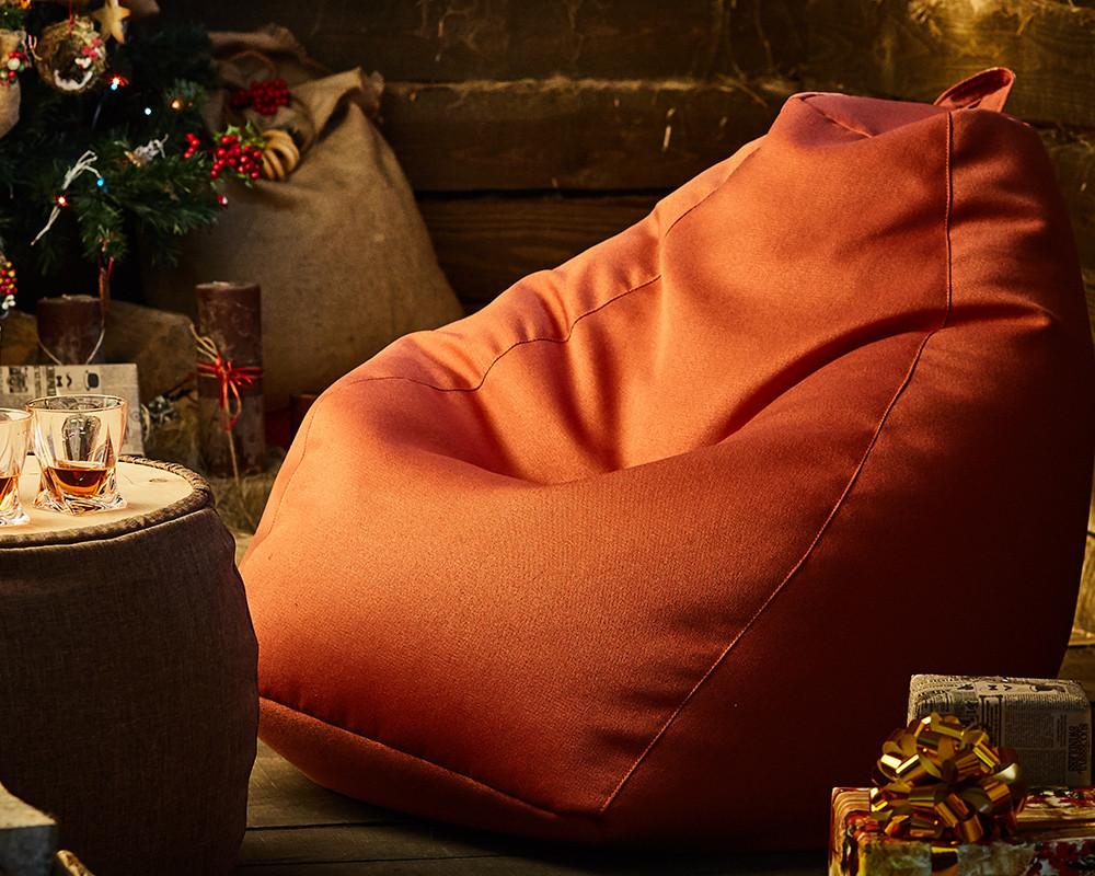 Кресло-груша, рогожка (размеры: S, M, L)