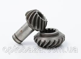 Шестерни редуктора конические комплект (7 шлицов) для мотокос серии 40 - 51 см, куб, фото 3