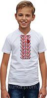 Вышитая футболка для мальчика, фото 1