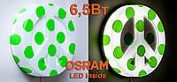 Декоративный LED-светильник 6,5Вт TOPdecor275green