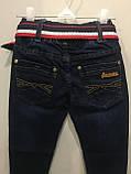 Детские джинсы с ремнем на мальчика 104,110,116 см, фото 4
