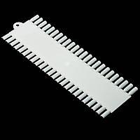 Планшет-рядки на 48 ногтей, для гель лака, матовый