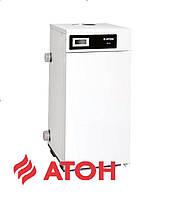 Напольный дымоходный газовый котел ATON Atmo 10 EBM двухконтурный (универсальное подключение)