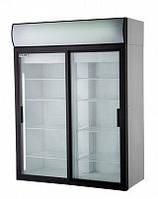 Холодильный шкаф  DM110Sd-S Polair Полаир со стеклянными дверьми