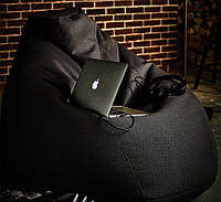 Кресло-груша, велюр (размеры: S, M, L)