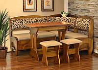 Кухонный уголок Софи 2 (стол+диван+2 табурета)