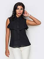 Елегантна чорна блузка Sharlin (S, M, L)