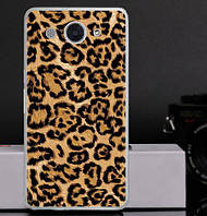 Оригинальный чехол бампер для Huawei Y3 2017 с картинкой Леопардовый принт