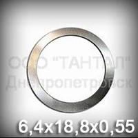 Шайба 6,4х18,8х0,55 оцинкованная DIN 988 регулировочная (прокладка стальная дистанционная)