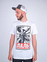 Мужская футболка Punch - Паль#2, White