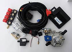 Комплект гбо 4 поколения Lpg tech 204 (редуктор tomasetto, форсунки Valtek)