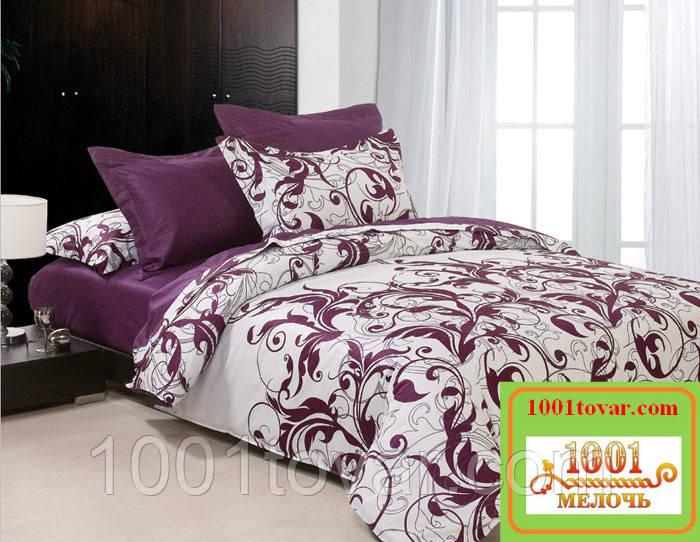 Двуспальное постельное бельё Viluta (Вилюта) ранфорс, 8624