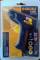 """Пістолет клейовий 8 мм 10 Вт  """"Sigma"""""""