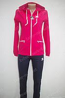 Спортивный костюм в стиле ADIDAS розовый, фото 1