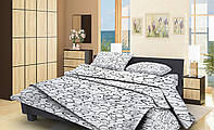 Семейный комплект постельного белья Бязь Gold Lux