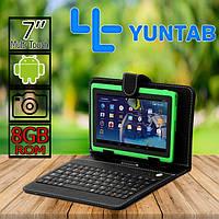 Планшет-ноутбук ОРИГИНАЛ  Yuntab Q88H + 8GB  клавиатура в ПОДАРОК