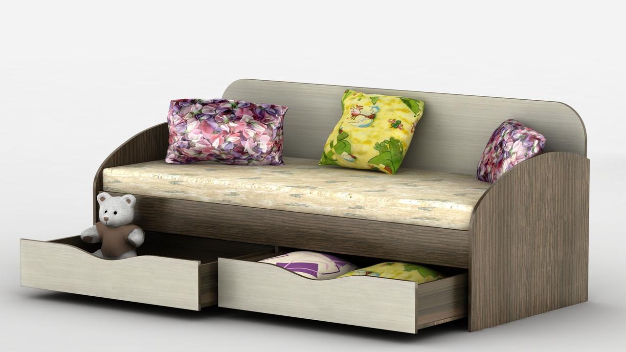 Ліжко Вектор Тіса меблі