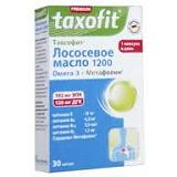 """Лососевое масло в капсулах 1200, Омега-3 """"Таксофит""""-"""