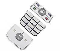 Клавиатура Nokia 5700s  silver