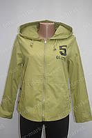 Спортивная женская куртка летняя травяная