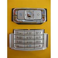 Клавиатура Nokia N95 silver