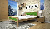 Кровать натуральное дерево Модерн 6
