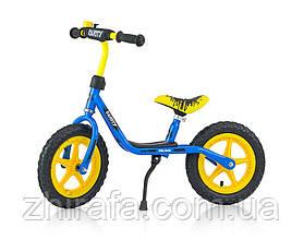 Беговел Milly Mally Dusty 12 Blue-Yellow