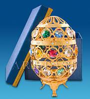 "Фигурка ""Яйцо"" 10,5x10,5x16,5 см., с цвет. крист. Crystal Temptations, США"