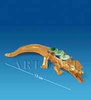 Фигурка Крокодил с цв.кр. (Юнион) AR-3788/1