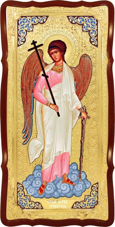 Ангел хранитель в ризе ростовая икона