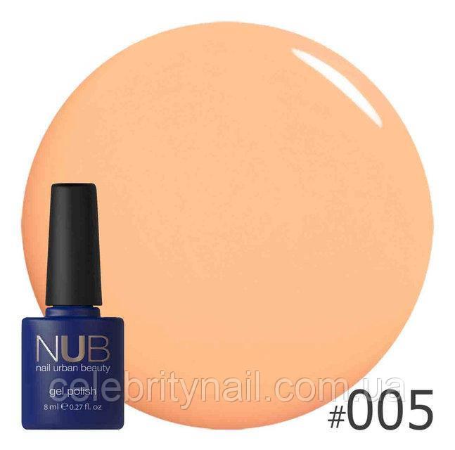 Гель-лак NUB Orange for ever 005