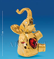 Фигурка Слоник-неваляшка с цв.кр. (Юнион) AR-4314