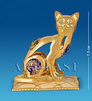 Фигурка Кошка на подушке с цв.кр. (Юнион) AR-3746/3