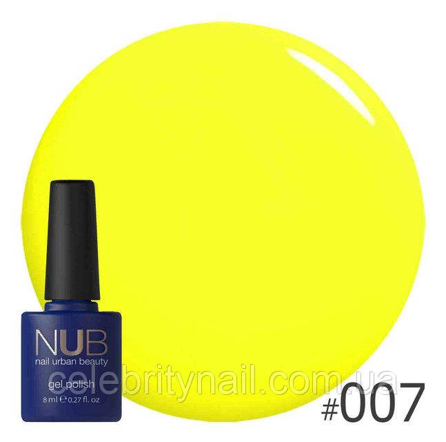 Гель-лак NUB Yellow sensation 007