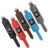 Ремешок Apple watch 42mm Hermès Cuff Leather /mixed color/